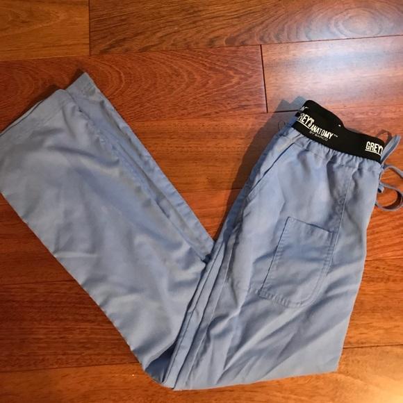Grey's Anatomy Pants - Greys Anatomy 3 Pocket Athletic Logo Waist XS